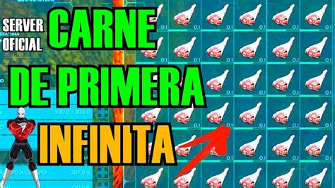 TRUCO CARNE DE PRIMERA INFINTA!!! | ARK SURVIVAL EVOLVED ...
