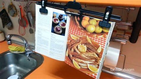 Truco para sujetar el libro de recetas | facilisimo.com ...