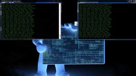 Trucos sencillos de hacker   pantalla de Matrix V1   YouTube