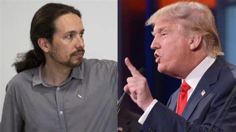 Trump se plantea prohibir a Pablo Iglesias la entrada en ...