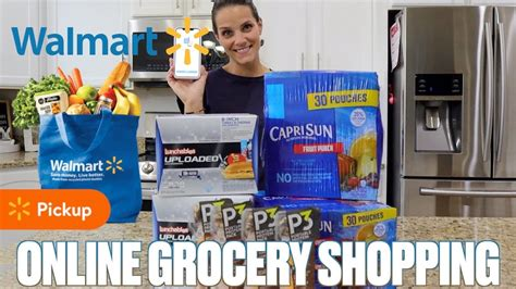 TRYING WALMART ONLINE GROCERY PICKUP FOR THE FIRST TIME ...
