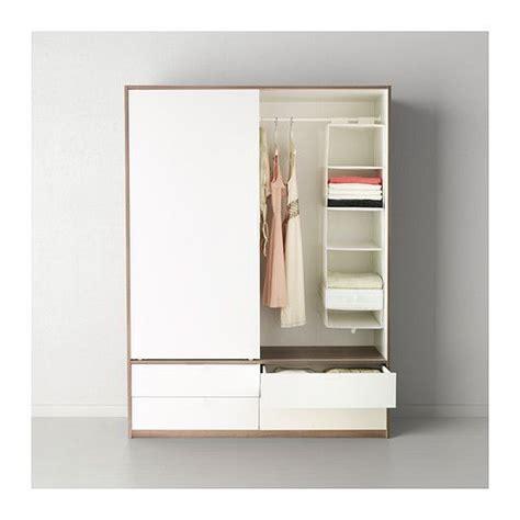 TRYSIL Wardrobe w sliding doors/4 drawers IKEA Sliding ...