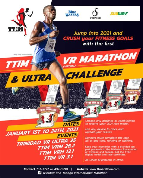TTIM 2021 VR Marathon & Ultra Challenge | Trinidad and ...