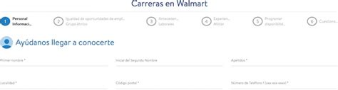 Tu aplicación de trabajo para Walmart en 6 pasos – Guía 2020