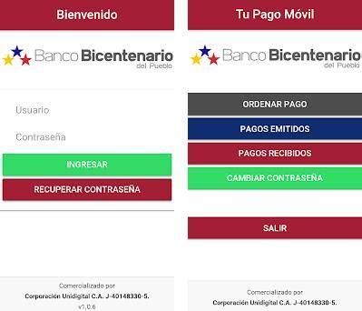 Tu Pago Movil Banco Bicentenario 1.3.2 apk download for ...