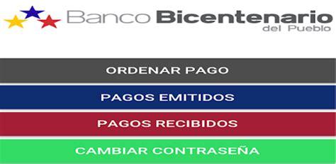 Tu Pago Movil Banco Bicentenario   Aplicaciones en Google Play
