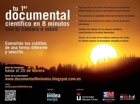 Tu primer documental Científico en 8 minutos   IMDEA Energía