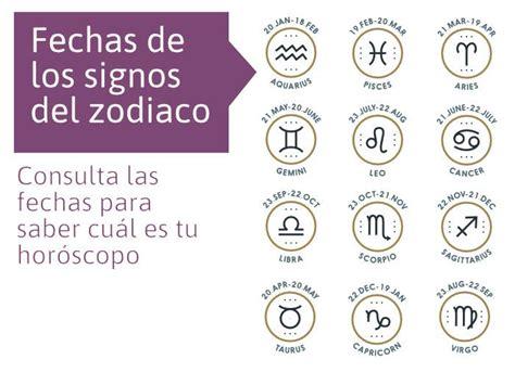 Tu signo según tu fecha de Nacimiento | Signos zodiacales ...