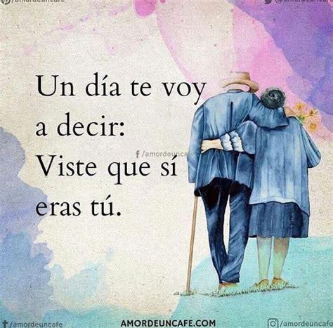 Tu y yo siempre juntos en las buenas y en las malas ...