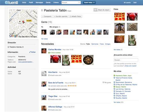 Tuenti Sitios, la red social Tuenti lanza un directorio ...