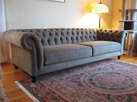 Tufted Chesterfield Sofa   Home Furniture Design