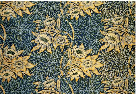 Tulip and willow  textile design by William Morris ...
