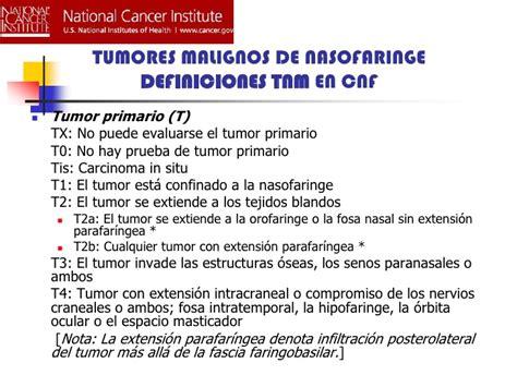 Tumoresmalignos de nasofaringe