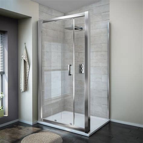 Turin 8mm Rectangular Sliding Door Shower Enclosure ...