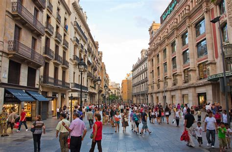 Turismo de compras en Barcelona   Panageos