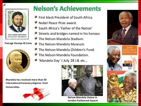 Turning A New Leaf in Nelson Mandela life