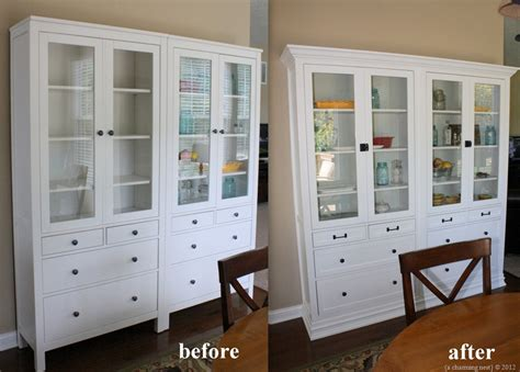 Turning IKEA Hemnes into Built Ins ~ Get Home Decorating