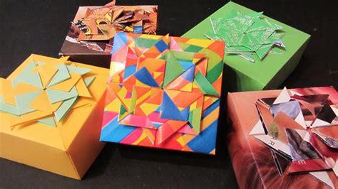 Tutorial: Cajitas decoradas. Boxes made of magazines ...