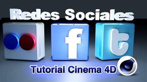 Tutorial Cinema 4D   Iconos de Redes Sociales   YouTube