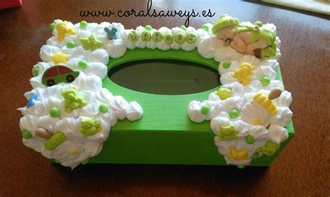 Tutorial como hacer cajitas de pañuelos para bebes | Cajas ...