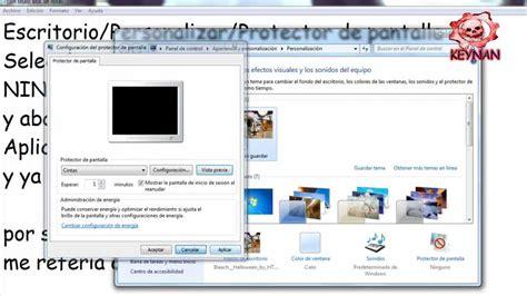 Tutorial: Como Quitar Protector De Pantalla De Windows 7 ...