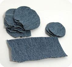 Tutorial & creative recycling: rose made of jeans! would ...