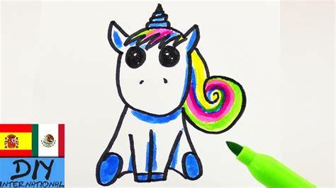 Tutorial de dibujo: Unicornio   Cómo dibujar un unicornio ...