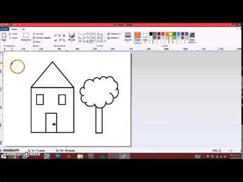 tutorial de paint para niños   YouTube