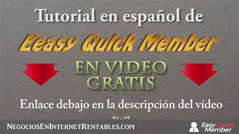 Tutorial en español Easy Quick Member Gratis | Plugin para ...