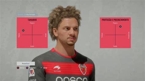 Tutorial face Willian Arão  Flamengo  FIFA 20 in 2020 ...