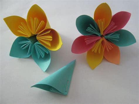 Tutorial:Origami Flowers | Learn 2 Origami   Origami ...