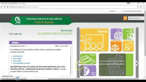 Tutorial Portal Alumnos UABC   YouTube