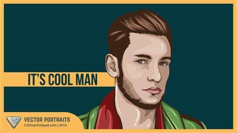 Tutorial Vector Portraits   it s cool man  Using Adobe ...