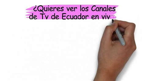Tv de Ecuador en Vivo   YouTube