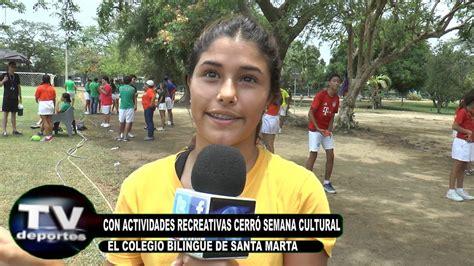 TV DEPORTES COLEGIO BILINGÜE   Clausura Semana Cultural ...