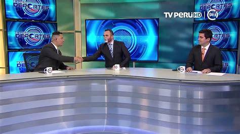 TV Perú Deportes  TV Perú    Conductores cumplieron su ...