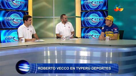 TV Perú Deportes  TV Perú    Roberto Vecco   21/01/2018 ...