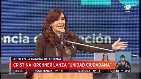 TV Pública Noticias   Cristina Fernández Kirchner lanza ...
