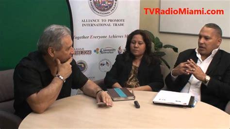 TV Radio Miami ENTREVISTA a Directivos de la Camara ...