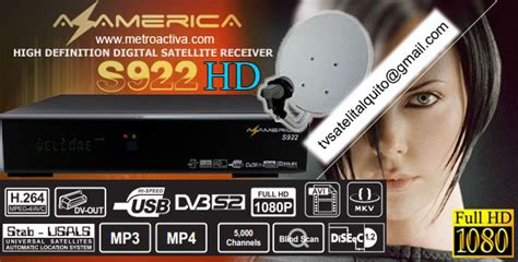 Tv Satelital HD Quito Kit Television Satelital S922 HD AZ ...