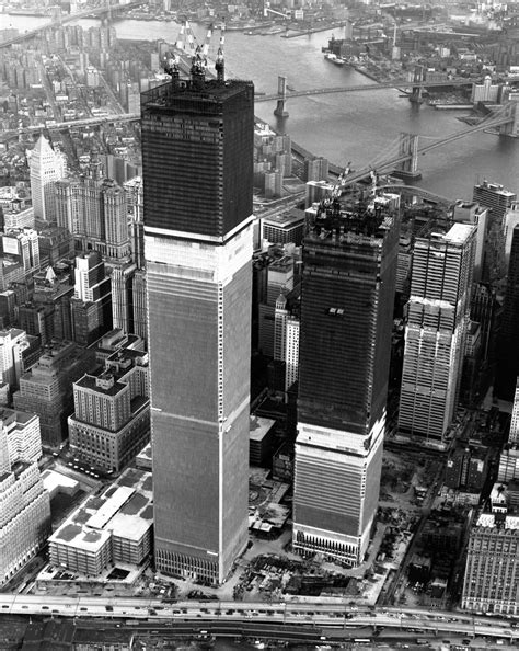 Twin towers/World trade center construction. 1973 | 1970 s ...