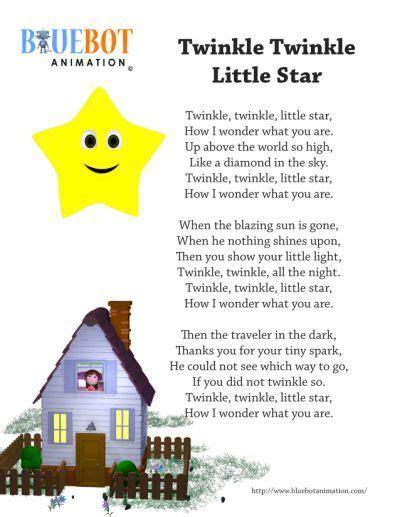 Twinkle Twinkle Little star nursery   Nursery rhymes songs ...