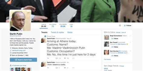 Twitter accused of censorship after removing parody Putin ...