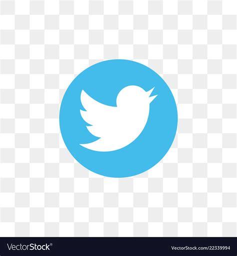 Twitter social media icon design template Vector Image