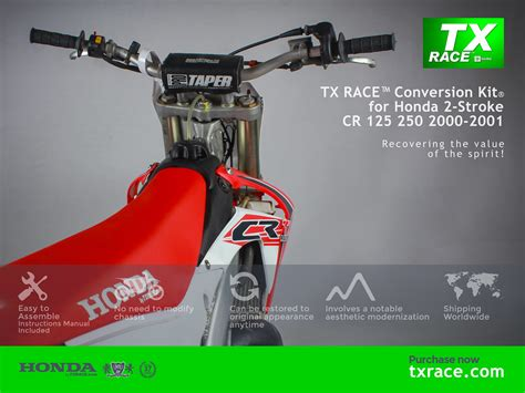 TX RACE Conversion Kit for Honda 2 Stroke CR 125 250 200 ...