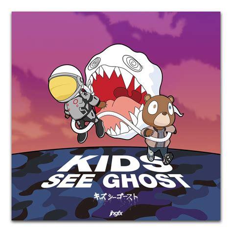 TX033 Kanye West & Kid Cudi Hot 2018 Music Album Kids See ...