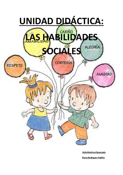 U.d. las habilidades sociales