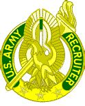 U.S. Army Recruiter Badge  ArmyStudyGuide.com