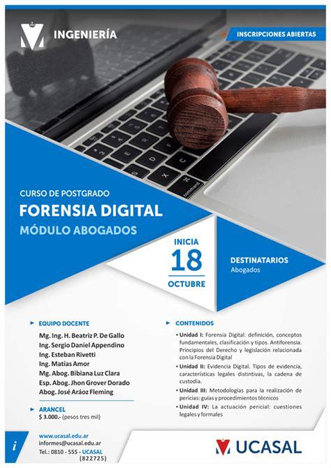 UCASAL   Noticias   Curso de Forensia Digital