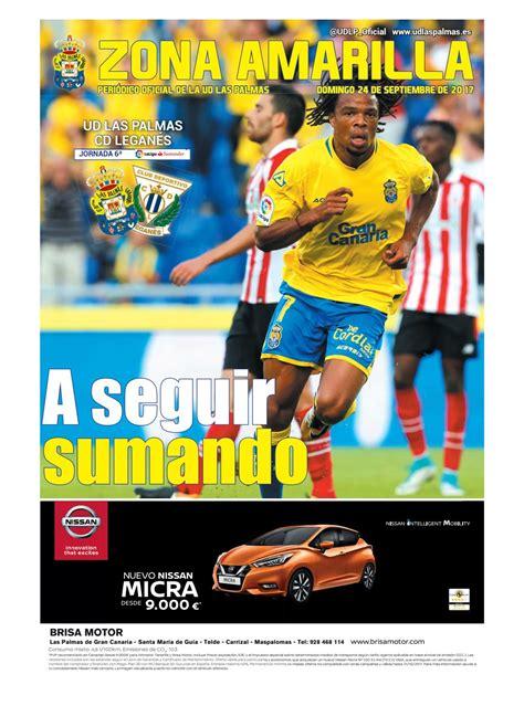UD Las Palmas   CD Leganés 2017/18 by Zona Amarilla   Issuu